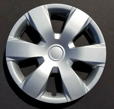 """One New Wheel Cover Hubcap Fits 2007-2011 Toyota Camry 16"""" Silver 6 Spoke"""