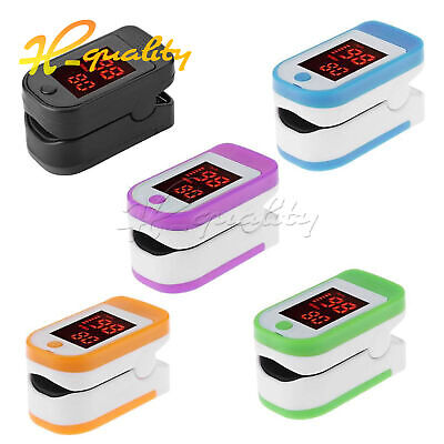 2019 Professional LED Display Finger Pulse Oximeter Monitor Health Care Tool