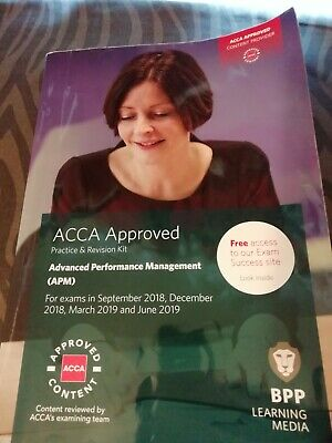 ACCA P5 APM Revision kit from BPP for June 2019