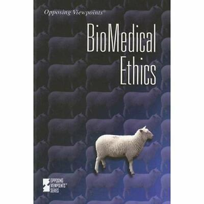 Biomedical Ethics (Opposing Viewpoints) - Paperback NEW Wagner, Viqi 14 Dec 2007