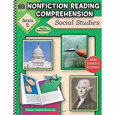 Nonfiction Reading Comprehension: Social Studies: Grade - Paperback NEW Foster,