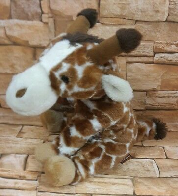 West Midlands Safari park soft toy Giraffe, no tag only label, Ravensden,