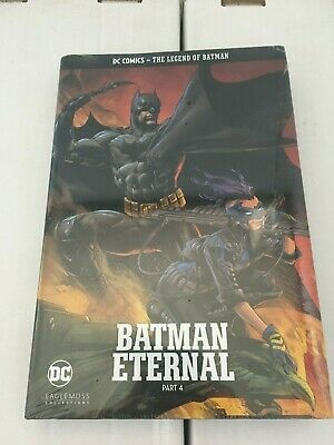 DC Comics - The Legend of Batman. Batman Eternal part 4 Hardcover. New & Sealed