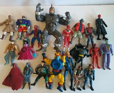 Huge mixed action figure lot of 20, He-Man, Star Wars, Batman, Avatar and more..