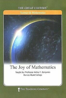 Great Courses - Joy of Mathematics (4 DVD's 2007) w/ Guidebook ~ BRAND NEW!