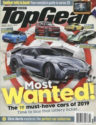 677d161aa9b BBC Top Gear Magazine February 2019 Most Wanted Cars of 2019 - FREE SHIP