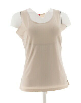 Spanx Trust Your Thinstincts Tank Top Silver Lining S NEW A306088