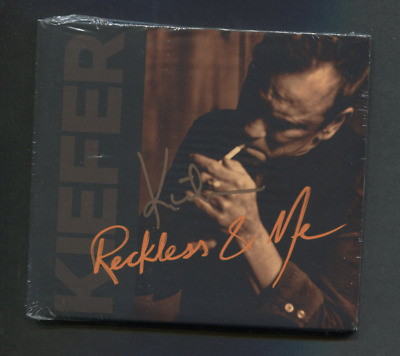 SIGNED Kiefer Sutherland - Reckless & Me ( CD album 2019) new and sealed