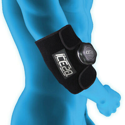 Ice20 Ice Therapy Small Knee Elbow Ankle Cold Compression Wrap Pain Relief w Bag