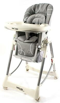 Love N Care Deluxe Techno Highchair Love Care Free Shipping!