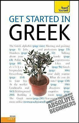 Get Started in Greek: A Teach Yourself Guide (TY: Language Guides), , Matsukas,