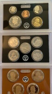 2012 US Mint Silver Proof Set, with Box & COA