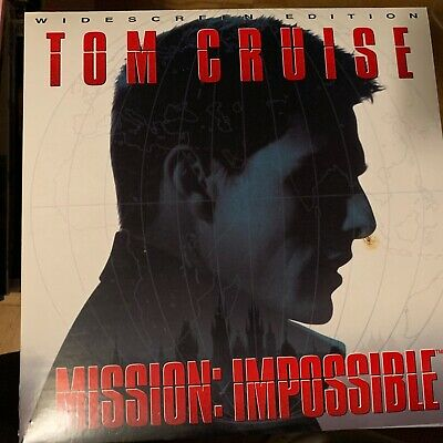 """Mission Impossible / widescreen - 12""""  Laserdisc Buy 6 for free shipping"""