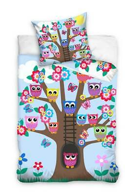Owls Baby Bed Linen Children Bed Linen Wendemotiv Bedding Set Owl 100x135