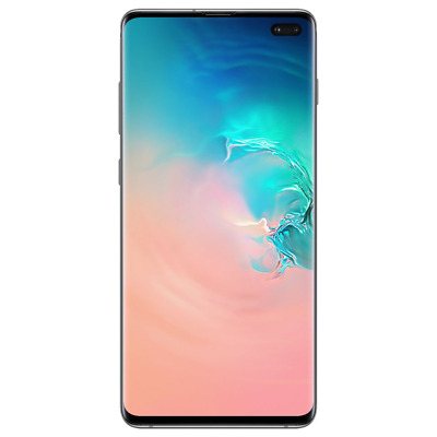 Samsung Galaxy S10+ Plus 128GB Prism White Verizon SMG975UZWV US Model