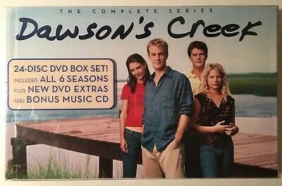 Dawsons Creek: The Complete Series 24-DVD Set + Bonus DVD & Soundtrack CD