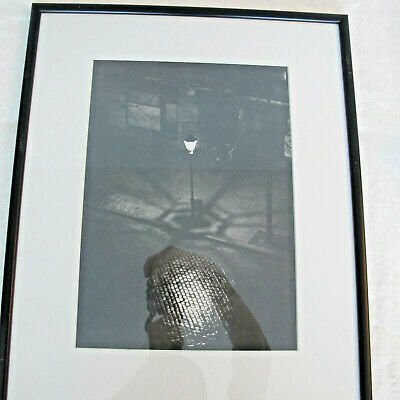 "Tim Gidal Silver Print Photograph ""The Lamp""  1929"