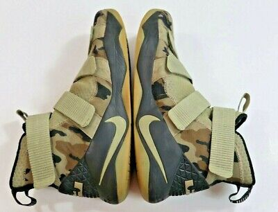 9f28770d650 Nike Soldier XI Lebron James Desert Camo Neutral Olive Green 897644-200  Men s 18