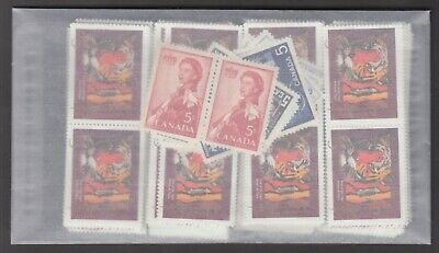 CANADA MINT POSTAGE LOT $100.00 FACE FOR $70.00  ALL LOTS 220 x .45 + 20 x .05