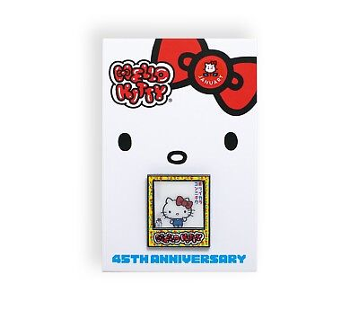 af23fa760 NEW Sanrio Hello Kitty 45th Anniversary Friend of the Year Pin Month -  January