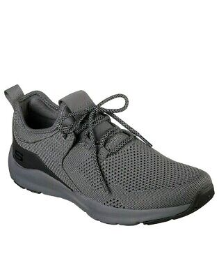 CHARCOAL SKECHERS SHOES Men Memory Air Comfort 52890 CCBK
