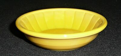 Akro Agate Child Tea Set Large Disc & Panel Yellow Cereal Bowl