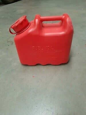 Jerry Can 10litre MFC MILITARY FUEL CONTAINER BRAND NEW RED