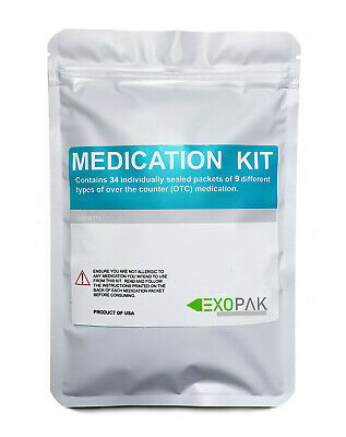 Travel Medication Kit / Refill For First Aid Kits - EXOPAK