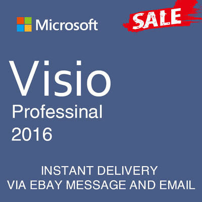MS visio 2016 professional pro product key+download link multilingual 32&64bit