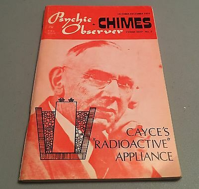 Oct Dec 1974 Psychic Observer & Chimes Magazine Edgar Cayce Smith Coil Space