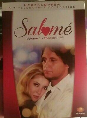Salome Volume 1 Episodes 1-50 (2015, 10-Disc DVD set) w/slipcover. Never Watched