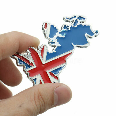 Supply Gb Union Jack Car Grille Badge Free Fixings Automobilia Car Badges
