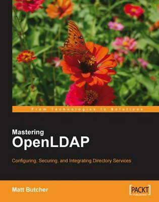 Openldap for Developers by Matt Butcher (English) Paperback Book Free Shipping!
