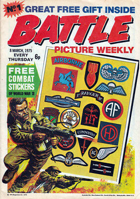 Battle Picture Weekly Digital Comic Collection On  Dvd-Rom. Full Run + Extras.