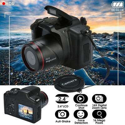 Digital SLR Camera * 2.4 Inch TFT LCD Screen 1080P 16X Zoom Anti-shake