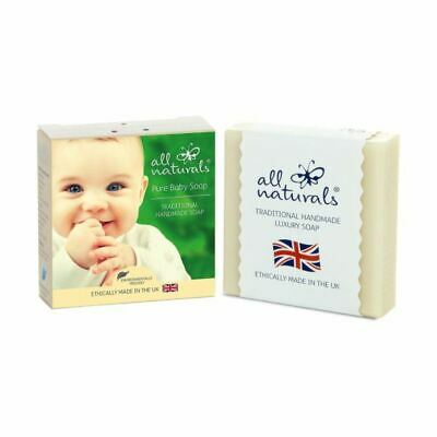All Naturals Pure Baby Organic Soap Bar 100g (3 Pack)