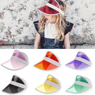 Kids Visor Sun Hat Golf Tennis Beach Cap outside protection UV cap 3-10 years