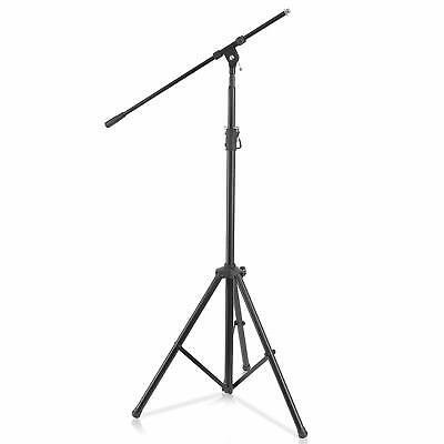 Pyle Heavy Duty Microphone Stand - Height Adjustable from 51.2'' to 78.75'' Inch