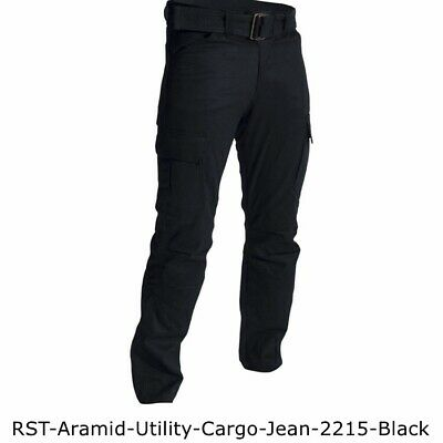 RST Mens Combat Motorcycle Trousers Black