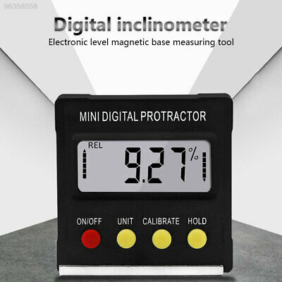 9119 Multifunctional Protractor Black Metalworking Angle Finder Slope Meter