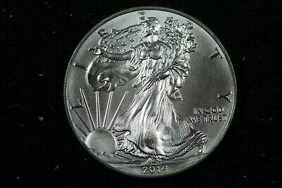 Estate Find 2014 - American Silver Eagle!!! #J00031