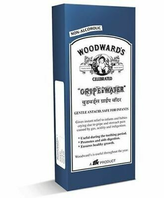 Woodward's GRIPE WATER Baby Infant Colic Gas Stomach Pain Indigestion 200 ML