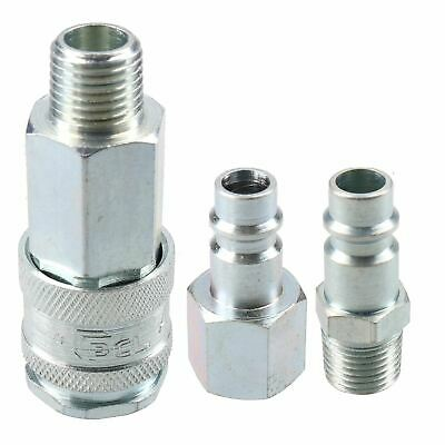 """PCL XF Series Female Coupler 1/4"""" BSP Male Thread & Male Air Fittings Adaptor"""