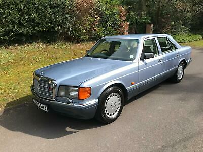 1992 Mercedes-Benz 500 SE W126 - STUNNING CAR - ALL OLD MOTS - 22 X SERVICES