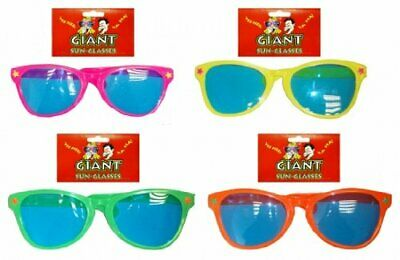 Giant Novelty Joke Sun Glasses Assorted Colours 28 cm Stag Night Party Accessory