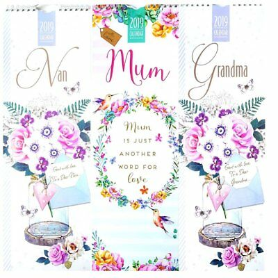 Tallon 2019 1 Month To View Planner Hanging Calendar One Month per Page 038025