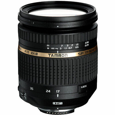 Second Stock Tamron SP 17-50mm F2.8 XR Di II VC LD Lens - Canon Fit