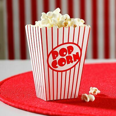 Popcorn Boxes Movie Hollywood Birthday Party Cinema Treats Paper Bags Fun NEW UK