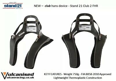 Stand21 Club Series 2 HANS Device 20 Degree Recline Medium/Large FIA FHR sport