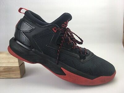 brand new 04ee6 c4432 Adidas Mens Black Red D Lillard 2 Basketball Sneaker Shoe F37124 Size 13 US
